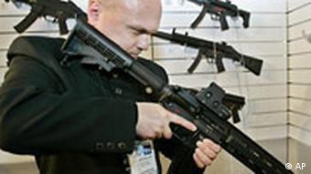 HK416 Maschinengewehr Waffe Heckler und Koch