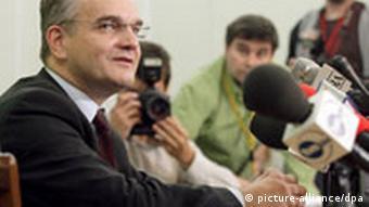 Parteiführer der PSL Waldemar Pawlak Polen Partei
