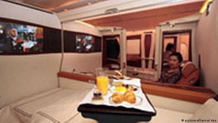 A suite on an Airbus A380 plane (picture-alliance/ dpa)