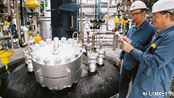 Lanxess Produktion Großreaktor Therban Betrieb