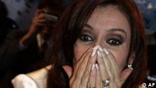 Argentinische Präsidentschaftskandidatin Christina Fernandez de Kirchner