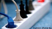 Deutschland Strom Mehrfachsteckdose