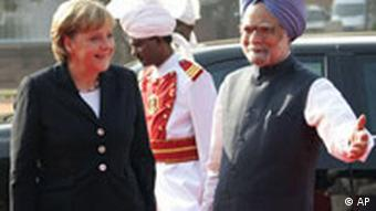This is Merkel's first visit to India since 2007