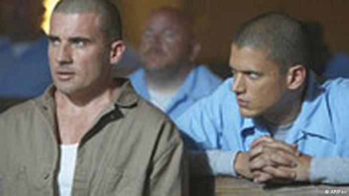 NEWS USE ONLY, FOR NEWS RELATED TO SUBJECT This undated photo provided by Fox shows actors Dominic Purcell, left, and Wentworth Miller in a scene from Prison Break. Two brothers from Missouri are the latest to claim that Hollywood hijacked their idea and transformed it into the popular moneymaker aired by FOX-TV. (AP Photo/Fox)