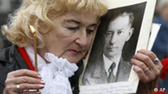 Gedenken an die Opfer der Sovjet Era Irina Kalina Terror 1937 Russland Moskau