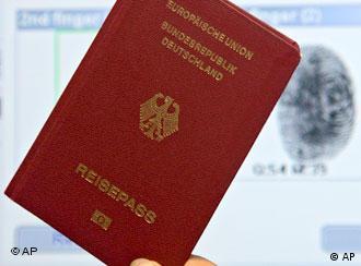 گذرنامهی آلمانی - باید برای کسب آن در یک کنکور شرکت کرد