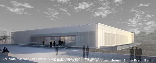 Conceptual design of new building designed by architect Ursula Wilms
