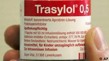 Deutschland Bayer nimmt Herzmedikament Trasylol vom Markt