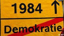 Deutschland Telekommunikation Überwachung Demonstration in Frankfurt