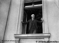 Philipp Scheidemann during his speech in Berlin