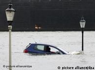 Ciudades como Hamburgo son especialmente vulnerables a inundaciones.