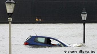 BdT 09.11.07 Hochwasser in Hamburg