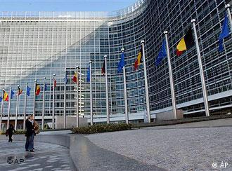 The Berlaymont building is glass structure with 18 floors and more than 3,000 offices.