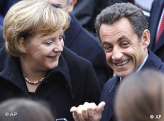 French president Nicolas Sarkozy at the European Parliament in Strasbourg