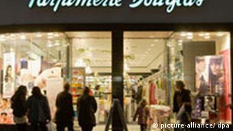 Parfümeriekette Douglas