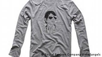 Social Fashion Company Longsleve grau Mann mit Sonnenbrille Dandy En Francais