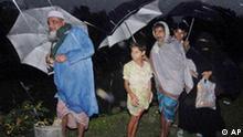 Bangladesch Wirbelsturm Zyklon Einwohner in Barisal