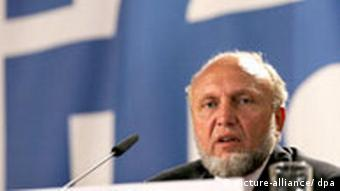 Hans-Werner Sinn, head of the Ifo institute
