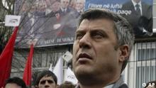 Kosovo Wahlen, Oppositionsführer Hashim Thaci