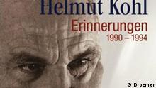 Buchcover (Ausschnitt) Helmut Kohl, Erinnerungen 1990 bis 1994, Teil III. Verlag: Droemer/Knaur