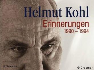 Гельмут Коль, обложка книги ''Erinnerungen, 1990 - 1994''