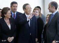 UN Secretary-General Ban Ki-moon at the IPCC's closing ceremony