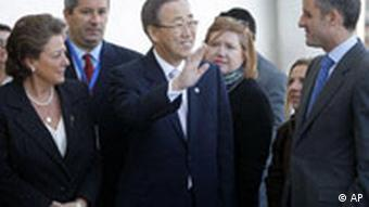 UN Secretary-General Ban Ki-moon at the IPCC's closing ceremony