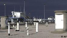 A general view of the monitoring station of a pipeline bringing Azerbaijani gas from Turkey to Greece at the Ipsala border crossing on Sunday, Nov. 18, 2007. The 300-kilometer (186-mile) pipeline will provide the European Union with its first supply of gas from the Caspian region, bypassing Russia and the volatile Middle East. It will link the Greek and Turkish networks, and eventually carry gas from Azerbaijan to Italy. (AP Photo/Nikolas Giakoumidis)
