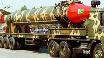 Pakistan's Ghauri missile can carry a nuclear warhead