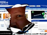Montage zur Werbeoffensive im Web 2.0 (Montage: DW)
