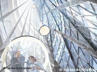 Cristal para que entre la luz: la Torre Energética ahorra hasta en el último detalle.