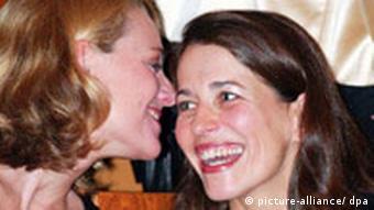 Deutschland Fernsehen Anne Will und Miriam Meckel
