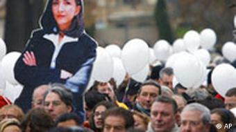 Frankreich Kolumbien Demonstration in Paris für Ingrid Betancourt