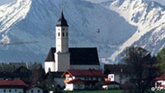 A Bavarian village.