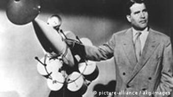 Wernher von Braun im Disney-Film Morgen zum Mond
