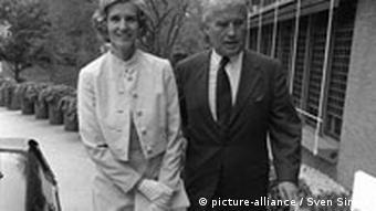 Wernher von Braun mit Ehefrau Maria