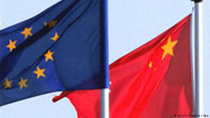 Symbolbild Europa China (picture-alliance / dpa)
