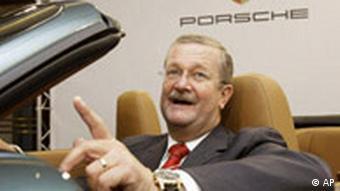 Deutschland Porsche Bilanz Wendelin Wiedeking Auto