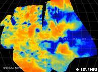 Altas temperaturas en la superficie de Venus tomadas por la cámara de monitoreo