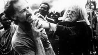 Werner Herzog und Klaus Kinski
