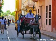 Calles de Cartagena de Indias.