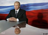 Putin habla a la nación por televisión, el 29.11.2007.