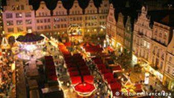 Weihnachtsmarkt in Rostock