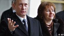 Russland Wahlen Wladimir Putin in Moskau