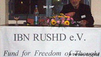 Deutschland Berlin Preisverleihung Ibn Rushd Preis Nouri bouzid