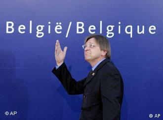 El mago, Guy Verhofstadt.