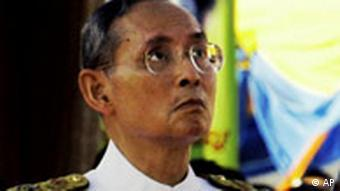 In the past state control of the media has been limited to criticism of the Thai king Bhumibol Adulyadej