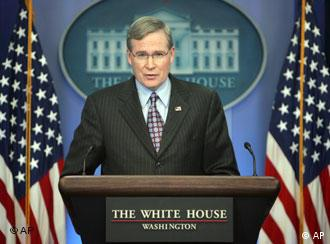 National Security Adviser Stephen Hadley at the White House in December 2007