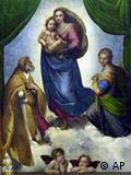 拉斐尔名画:西斯廷圣母