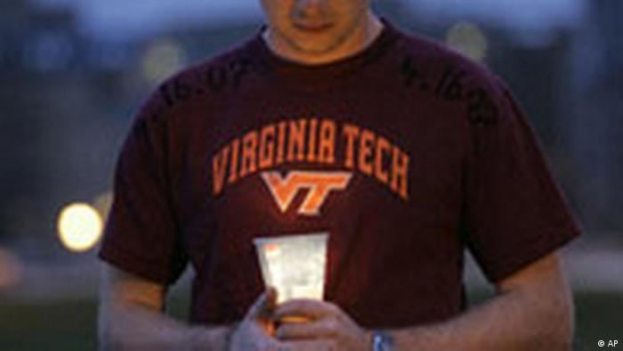 Jahresrückblick 2007 April Virginia Tech (AP)